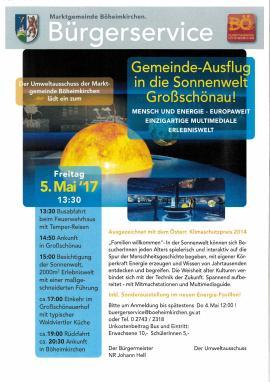 2017.05.05 | Gemeindeausflug in die Sonnenwelt Großschönau-