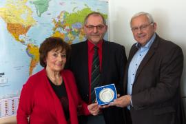 2017.03.21 | M&W Stummer feiert Jubiläum-Bürgermeister Johann Hell gratuliert der Familie zu diesen Jubiläen