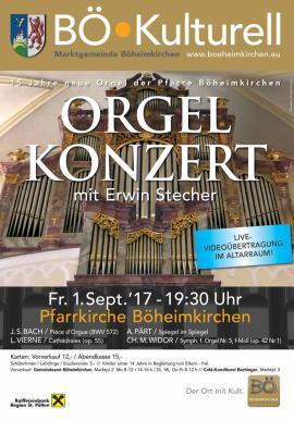 2017.07.25 | Orgelkonzert mit Erwin Stecher-