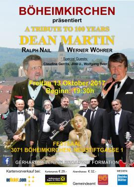 2017.10.13 |  A TRIBUTE TO 100 YEARS DEAN MARTIN-