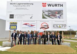 2018.04.09 | Würth investiert 20 Millionen Euro in Standorterweiterung-