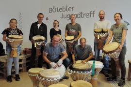 2018.09.01 | BÖ Trommelworkshop mit UR-TON in Mauterheim-