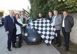 2010.10.02 WAVE - Weltgrößte E-Mobil Rallye machte Zwischenstopp in Böheimkirchen-