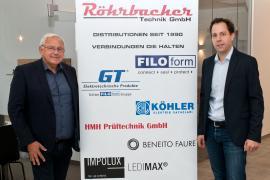 2018.11.14. | Röhrbacher Technik expandiert-Bürgermeister Hell zu Besuch bei Röhrbacher im STEGE Gewerbepark