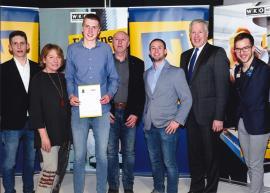 2019.03.11. | Spitzen Lehrabschlussprüfungen bei Metallbau Sonnleitner-