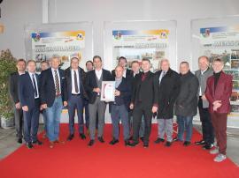 2019.11.18 | Kickinger Beton als eine der ersten Baufirmen zertifiziert-