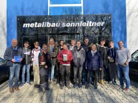 2019.11.20 | Poly-Schüler zu Besuch bei Metallbau Sonnleitner-