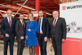 2019.12.04 | Würth vergrößert Unternehmenszentrale um 20 Millionen Euro in Böheimkirchen-