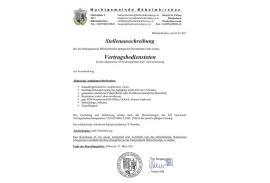 2021.03.05 Marktgemeinde Böheimkirchen -Vertragsbedienste/r allgem. Verwaltung und Lohn-