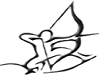 Bogenschießen Artemis-