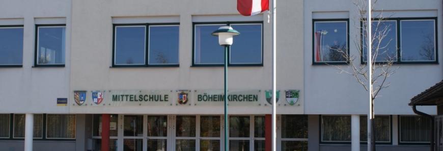 NMS (Neue Mittelschule, NÖ Modellschule), HS und PTS Böheimkirchen-