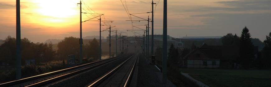 Alles auf Schiene in Böheimkirchen.-