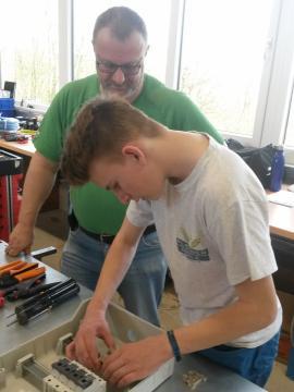 Workshop Schaltkastenbau-
