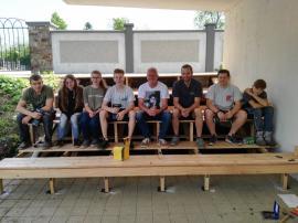 Stiegen-Podest bei der Volksschule umgesetzt!-