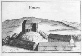 Öden Schloss-