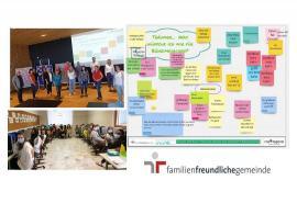 Familienfreundliche Gemeinde-Teilnehmer des Workshops Audit familienfreundliche Gemeinde (copyright:  Gemeinde Böheimkirchen), Online erarbeitete JugendWorkshop Ergebnisse, JugendWS 3. Klasse MS Böheimkirchen