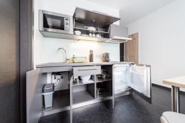 Apartment zur Einzelnutzung (ab 36m² + inklusive Küche)-